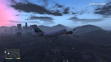 GTA V: How to Get A Big Plane & Fly it