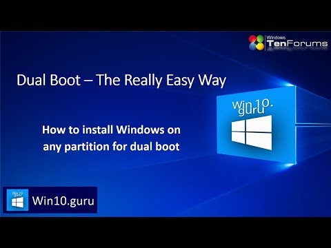 How to Dual Boot Windows 10(Or Below) and Linux Mint