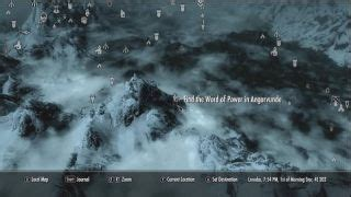 Skyrim Word Wall location and Shout guide: Page 2