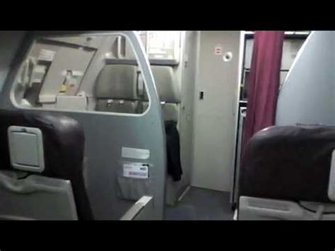 Wizz air A320 cabin front seats - YouTube