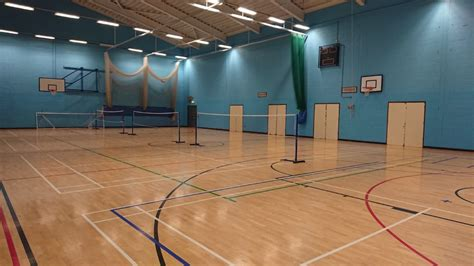 Sports Hall - Great Dunmow Leisure Centre