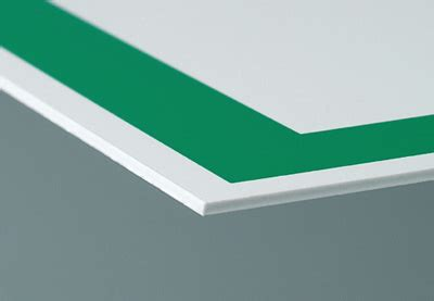Rigid PVC Plate   Permalight - For quick orientation and