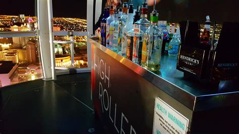 Time For Cocktails On The High Roller Happy Hour in Las Vegas