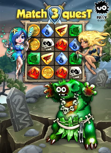 Match 3 Quest (MMO, RPG, TCG puzzle) Mobile, iOS, iPad