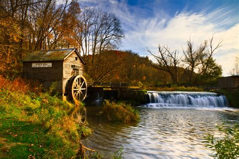 Wisconsin Photo Spots and Photography Locations Hydes Mill