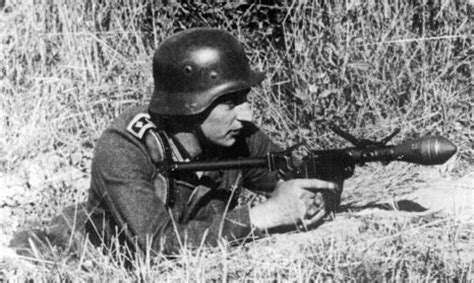 The Sturmpistole, a flare gun modified by the Germans to