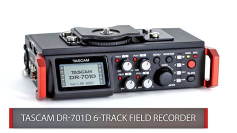 First Look: Tascam | DR-701D - YouTube