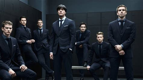 HUGO BOSS Outfits the German Football Team for World Cup