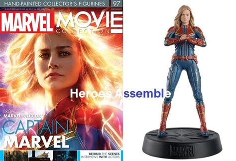 Marvel Movie Collection 097 Captain Marvel Avengers