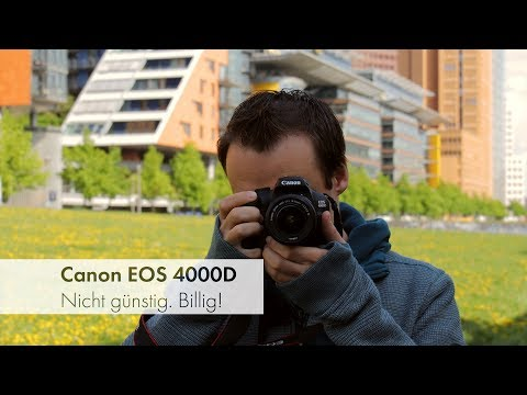 Canon EOS 4000D + EF-S18-55mm III DC Value Up inkl
