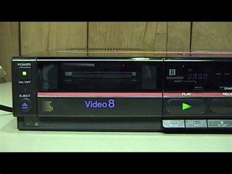 Sony CCD-TR91 Handycam and EV-A80 Video8 VCR Overview and