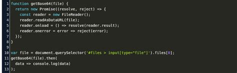 convert file to string javascript Code Example