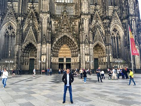 One Night in Cologne: Visiting the Cathedral and Buying