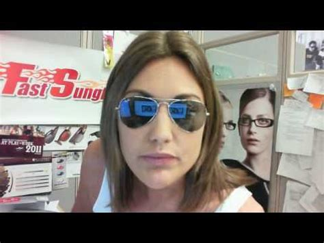 Ray Ban 3025 Aviator Sunglasses - Size Review - YouTube