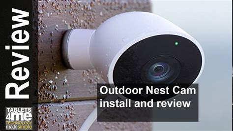 NEW 2016 OUTDOOR NEST CAM INSTALL AND SETUP - YouTube