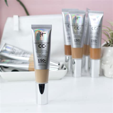 It Cosmetics CC Cream SPF 50 Review and Swatches | My