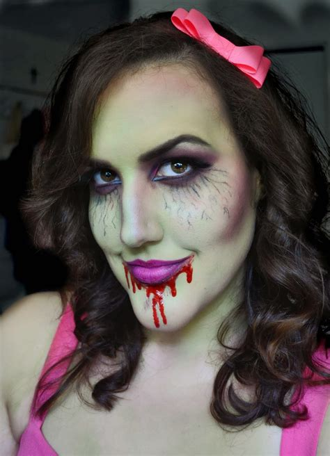 20 Girly Halloween Makeup to Look Amazing - Flawssy