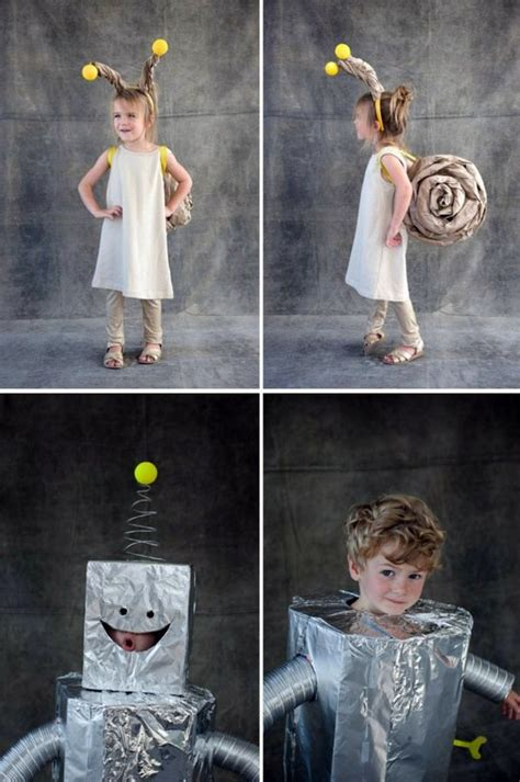 Make Halloween costumes themselves – Cool Kids tinker