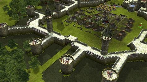 Stronghold Legends Steam Edition - BUILDING THE CAMELOT
