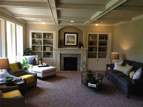 Warm Wall Colors for Living Rooms - Decor Ideas