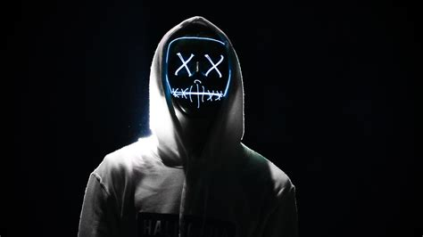 LED Mask 5K Wallpapers   HD Wallpapers   ID #28357