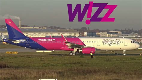 First WIZZ AIR Airbus A321 returning from Maiden Flight