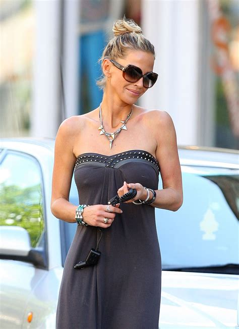 SARAH HARDING in Long Dress Out and About in London
