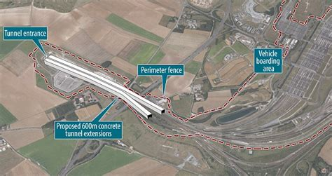 Channel Tunnel to be extended with 600m covered section
