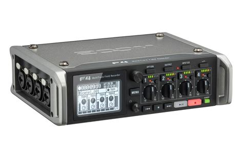 Zoom F4 Multitrack Field Recorder With Timecode - 6 Inputs