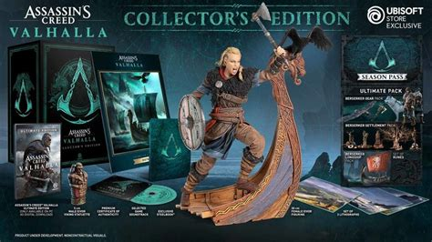 Assassin's Creed Valhalla: What comes in the Collector's