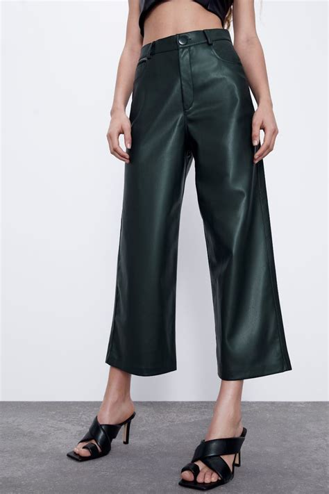 FAUX LEATHER CULOTTES | ZARA United States in 2020